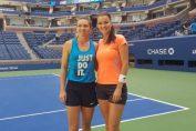 Simona Halep, alături de Agnieszka Radwanska, la US Open 2018