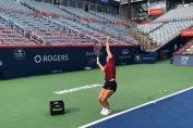 Simona Halep, primul antrenament la Rogers Cup Montreal 2018