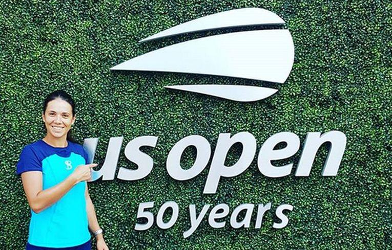 Raluca Olaru la US Open 2018