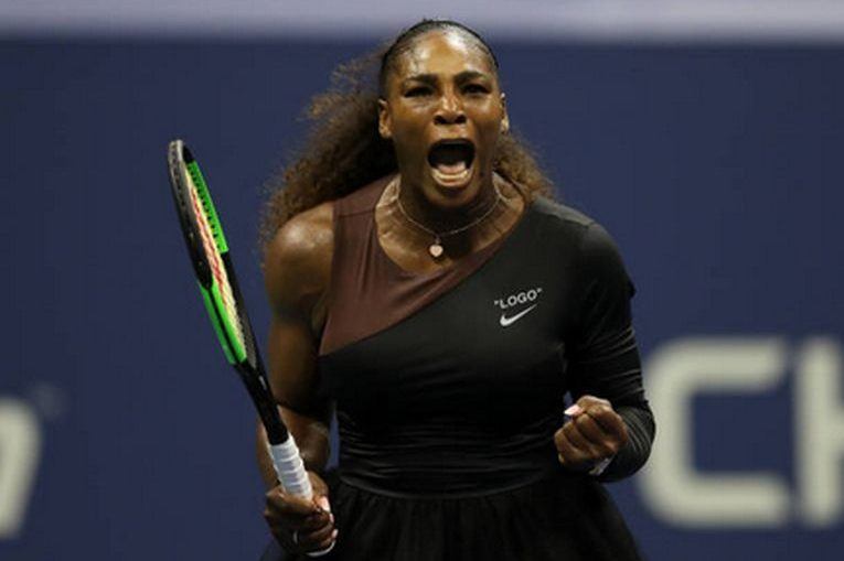 Serena Williams, bucuroasa la US Open 2018