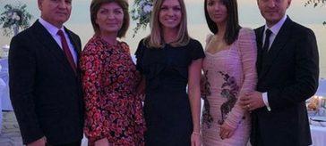 Simona Halep si familia la Dubrovnik