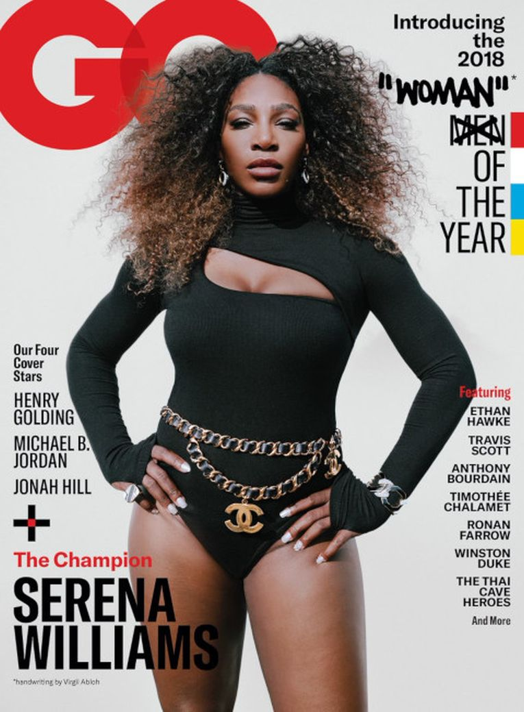 Serena Williams pe coperta GQ