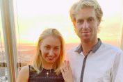 Daria Gavrilova si Luke Saville s-au logodit