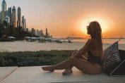 Sexy Dominika Cibulkova, la soare in Dubai