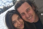 Andrei Pavel si iubita lui, Adriana Vârbanciu