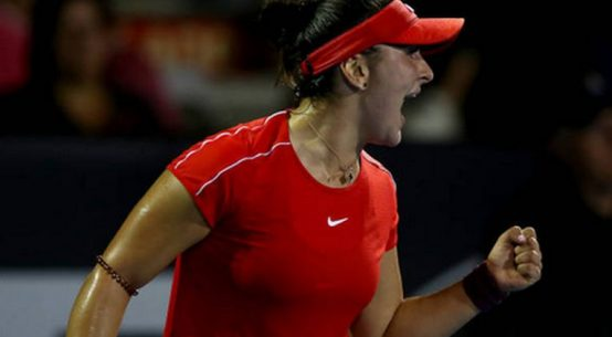 Bianca Andreescu a invins-o p-e Venus Williams la Auckland 2019