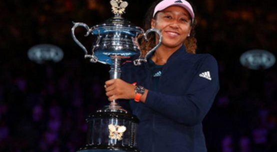 Naomi Osaka si trofeul cucerit la Australian Open 2019