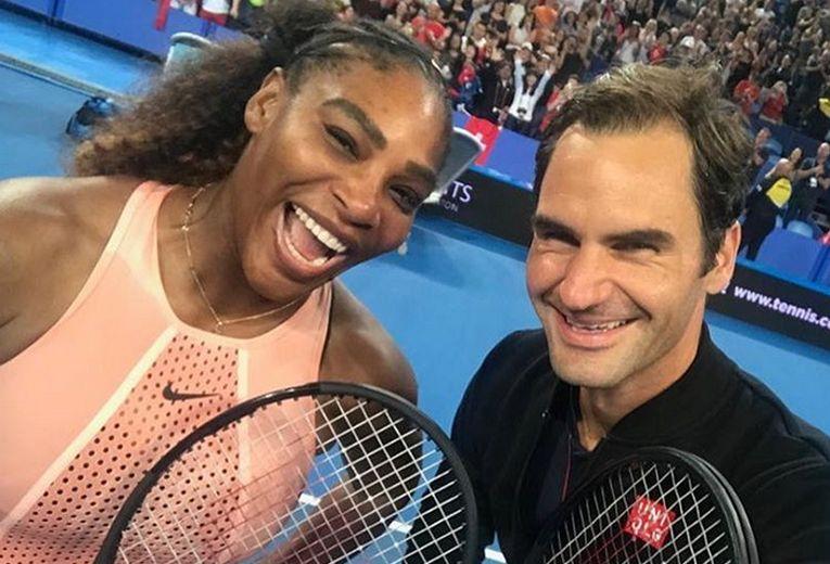 Serena Williams si Roger Federer la Cupa Hopman
