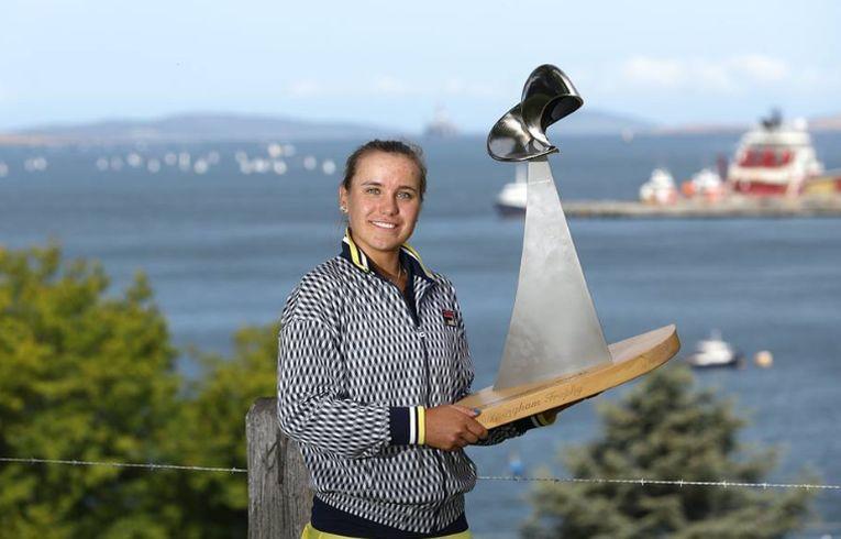 Sofia Kenin a castigat primul trofeu WTA al carierei la Hobart 2019