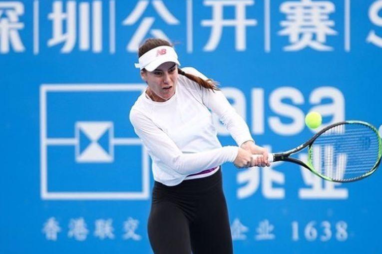 Sorana Cirstea in actiune la Shenzhen 2019