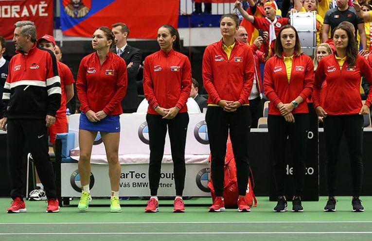 Echipa de Fed Cup a Romaniei calificata in semifinale