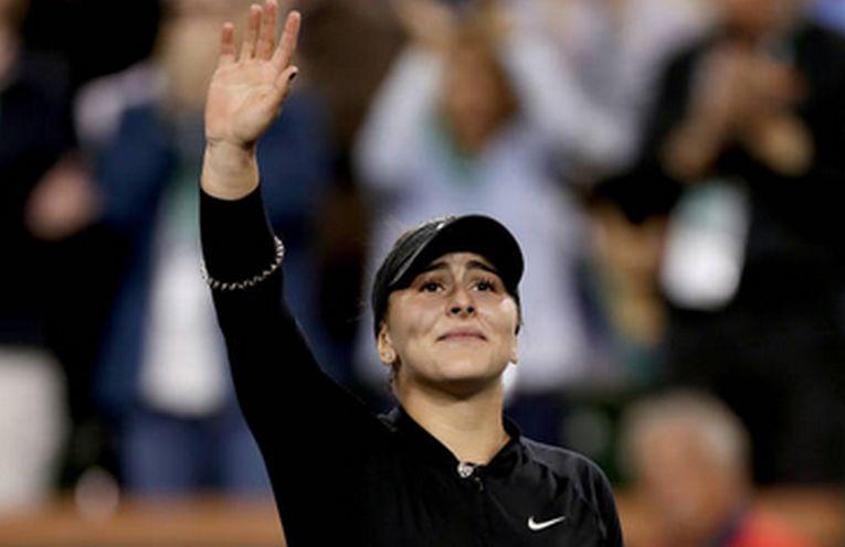 Bianca Andreescu, la Indian Wells 2019