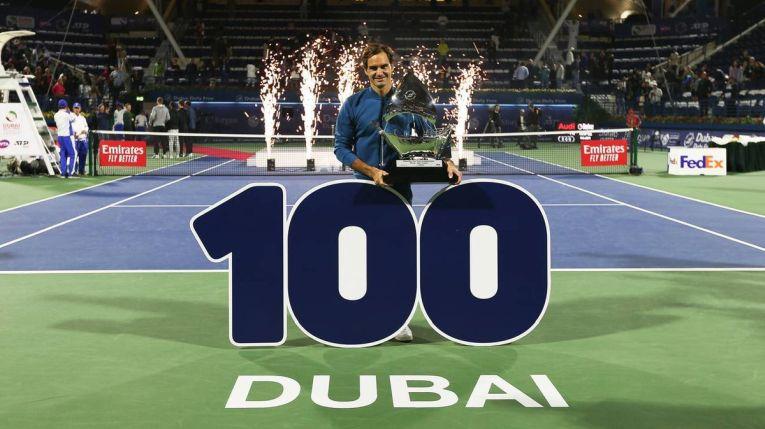 Roger Federer si titlul 100 din cariera, cucerit la Dubai 2019