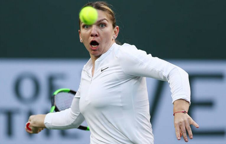 Simona Halep la Indian Wells 2019