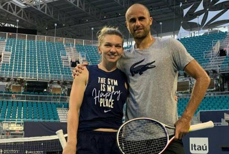 Simona Halep și Marius Copil, la Miami