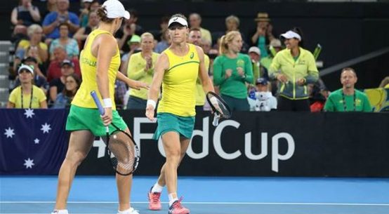 Australia s-a calificat in finala Fed Cup