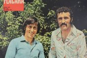 Ilie Nastase si Ion Tiriac pe coperta revistei Flacăra, in 1971