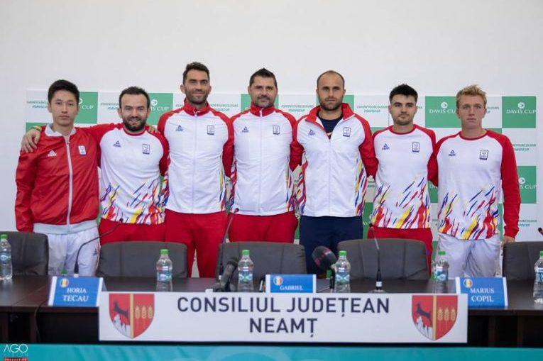 Echipa Romaniei de Cupa Davis pentru meciul cu Zimbabwe