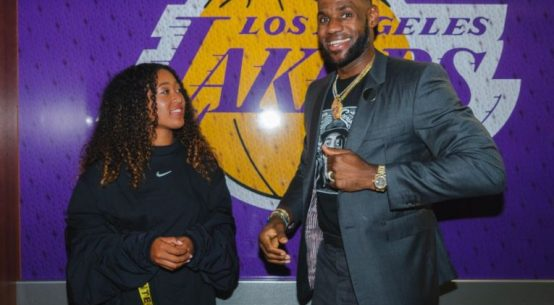 Naomi Osaka a fost prezentă deja la un prim eveniment Nike, alături de LeBron James