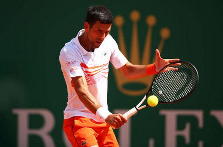 Novak Djokovic la Monte Carlo 2019