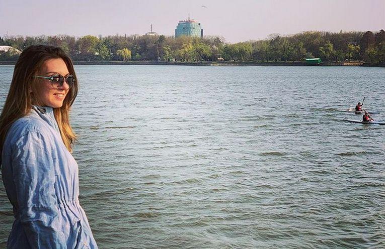 Simona Halep, parcul Herastrau, Bucuresti