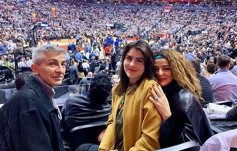 Bianca Andreescu si părinții ei
