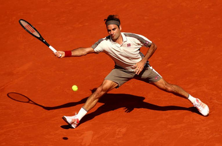 Roger Federer la Roland Garros 2019
