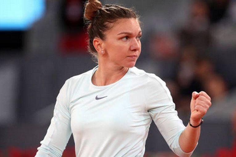 Simona Halep a mai castigat un meci la Madrid