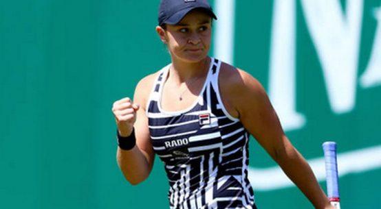Ashleigh Barty este la o victorie de pozitia de lider mondial WTA