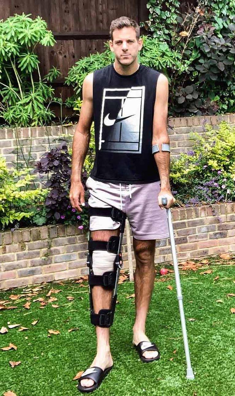 Juan Martin del Potro, după prima operație la rotula piciorului drept