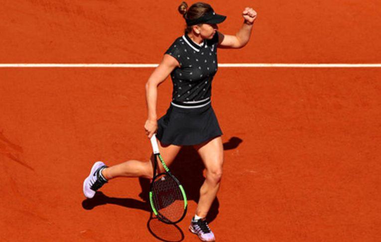 Simona Halep s-a calificat în optimile de finală la Roland Garros 2019