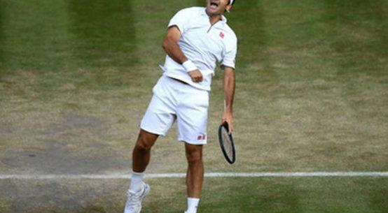 Roger Federer, după o nouă victorie obținută în fața lui Rafael Nadal la Wimbledon