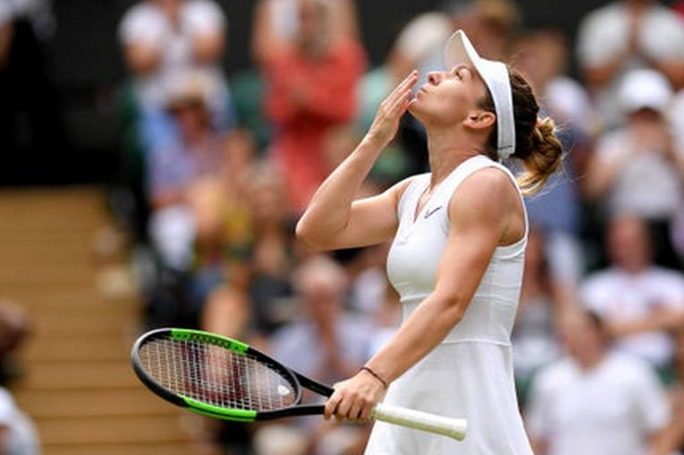 Simona Halep, după un nou meci câștigat la Wimbledon