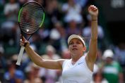 Simona Halep, bucurie la Wimbledon 2019