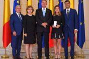 Simona Halep, alaturi de iubitul ei Toni Iuruc, la receptia de la Palatul Cotroceni