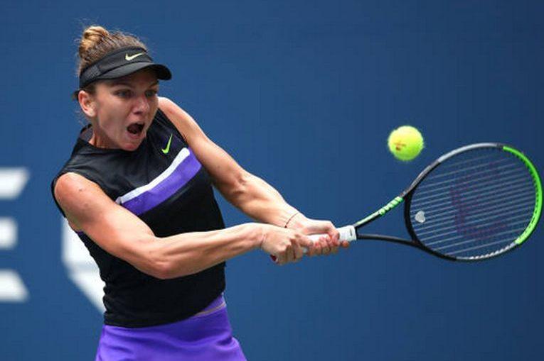 Simona Halep, la US Open 2019