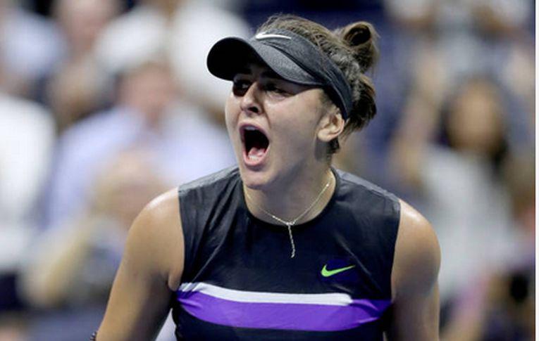 Bianca Andreescu si bucuria victoriei