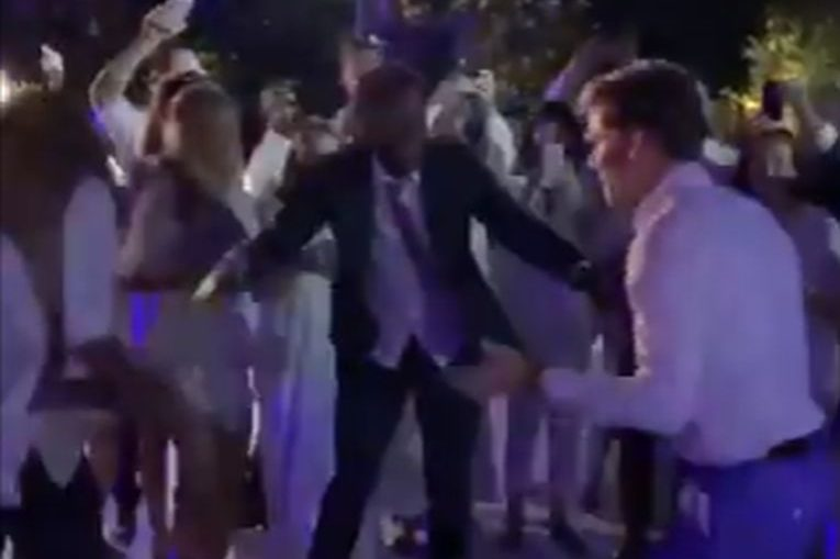 Gael Monfils, în plin dans la nunta lui Pouille
