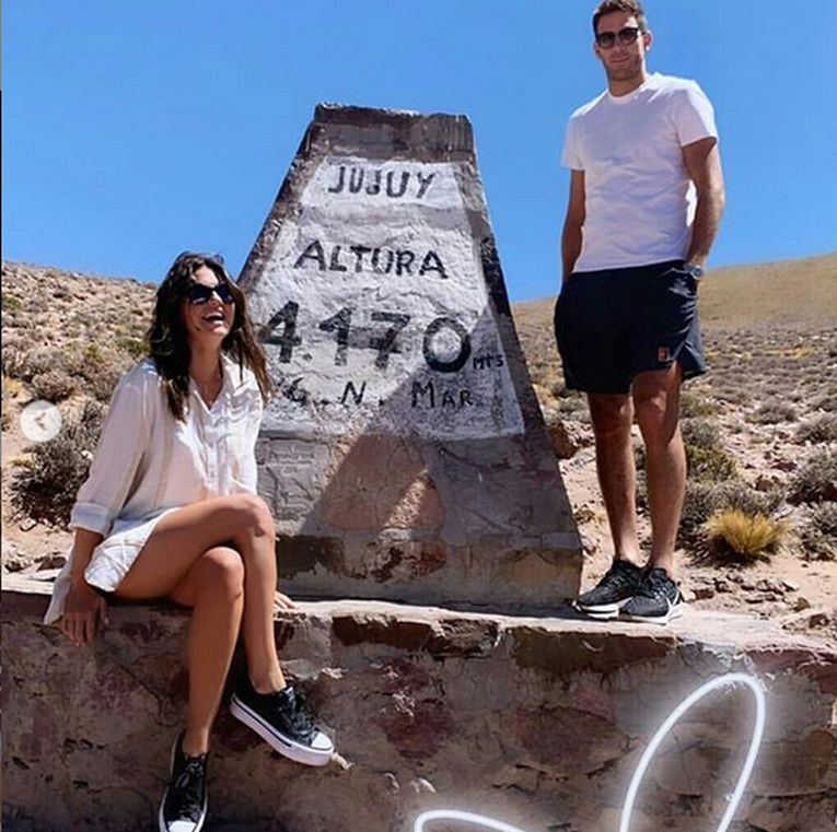 Sofia Jimenez Jujuy si Juan Martin del Potro au urcat la 4.170 de m