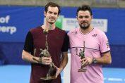 Andy Murray a cucerit titlul la Antwerp după ce l-a învins în finală pe Stan Wawrinka