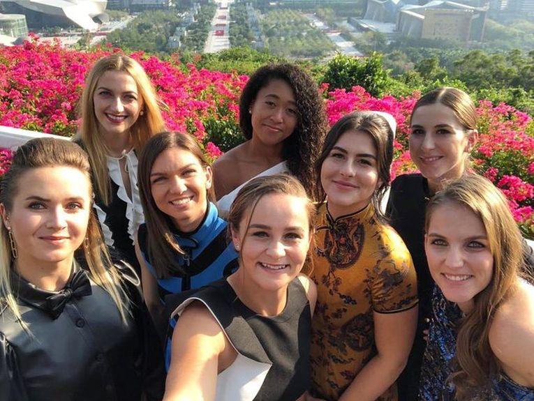 Deja clasicul selfie al participantelor la Turneul Campioanelor. De data aceasta, ediția 2019