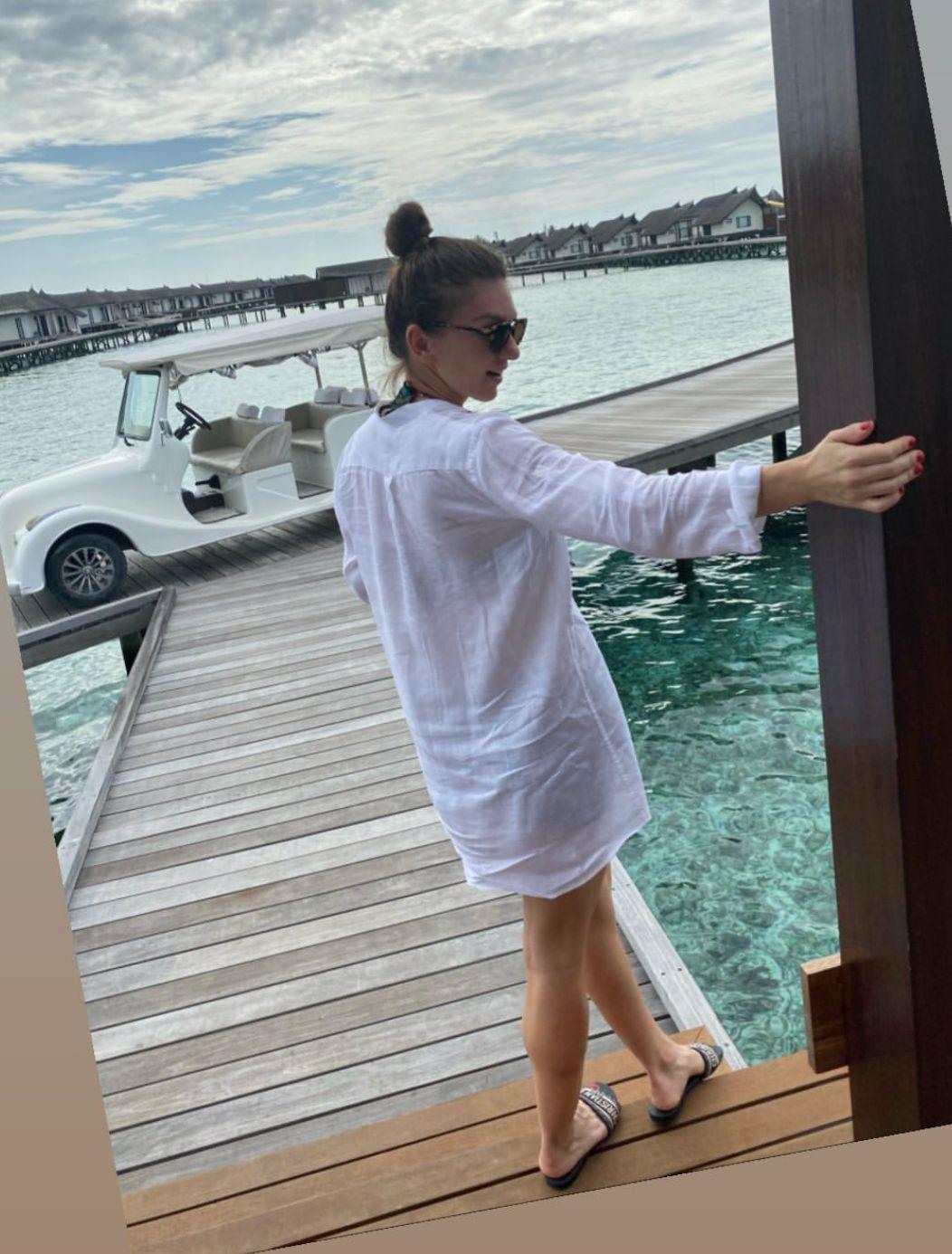 Simona Halep, in vacanță