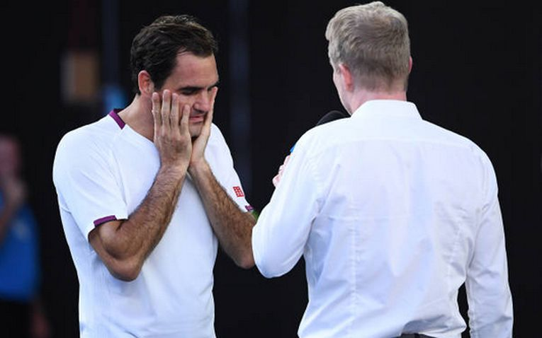 Roger Federer, la interviul de după meciul cu Sandgren, din sferturile de finală de la Australian Open