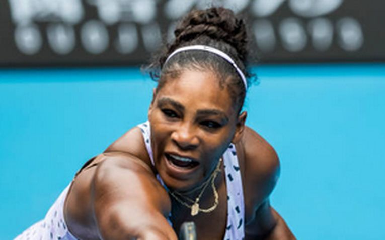 Serena Williams in plin efort la Australian Open 2020