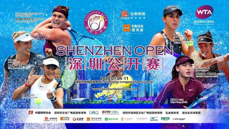 Turneul WTA Shenzhen Open 2020 si afisul lui
