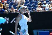 Simona Halep este bucuroasă după calificarea în optimile de finală ale Australian Open 2020