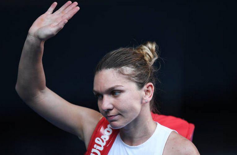 Simona Halep a ieșit supărată de pe teren după pierdeera semifinalei de la Australian Open 2020