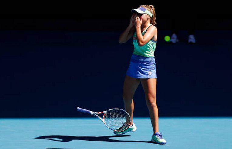 Sofia Kenin s-a calificat în prima finală de Grand Slam a carierei la Australian Open 2020 și nu a putut să-și ascundă bucuria pentru asta