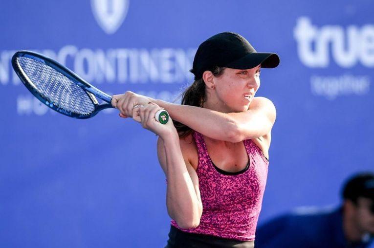 Patricia Țig în acțiune la turneul WTA de la Hua Hin