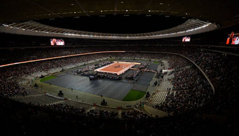 Roger Federer si Rafael Nadal au stabilit un nou record de spectatori pentru un meci de tenis